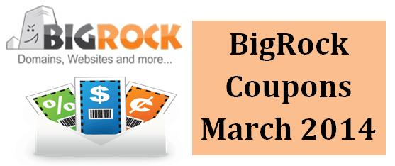 BigRock Coupons 2014