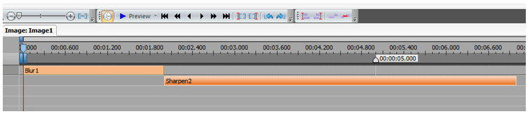 edit timeline