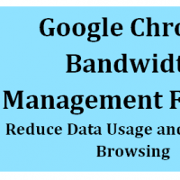 Reduce Web Data Usage