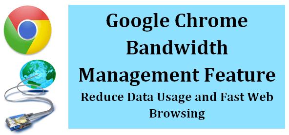 Reduce Web Data Usage