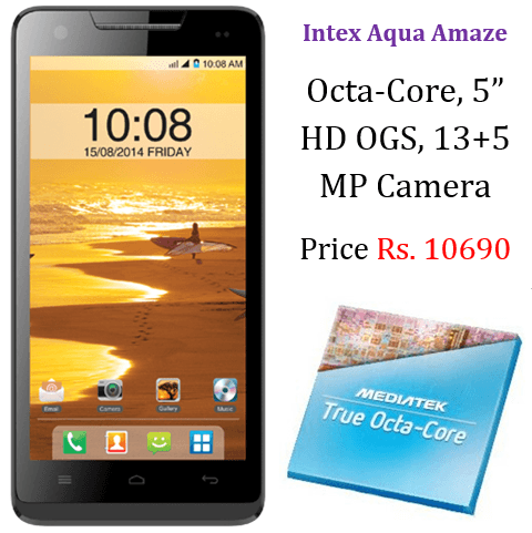 Intex Aqua Amaze Price India