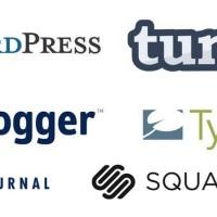 blogging platforms logos
