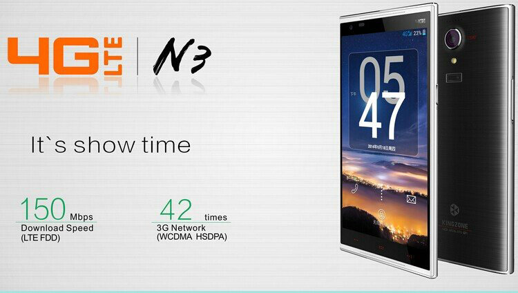 kingzone n3 mobile