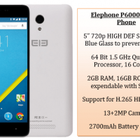 Elephone P6000 Mobile Phone