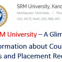 SRM University Courses