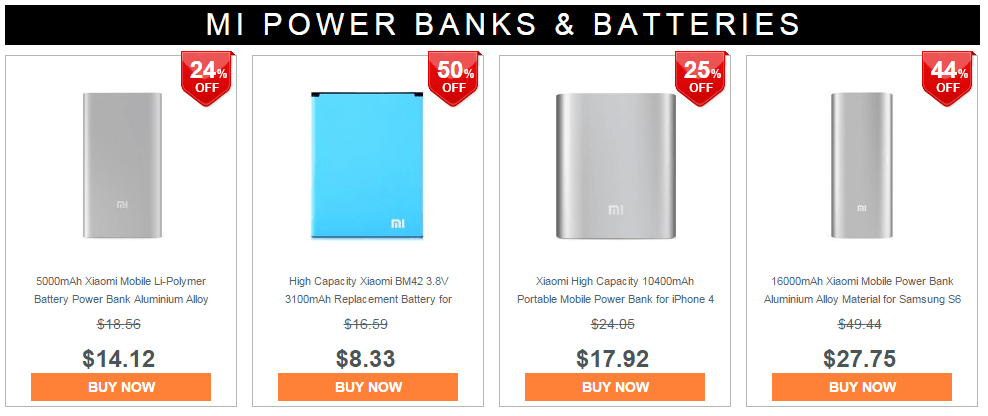 Xiaomi Power Bank 2015