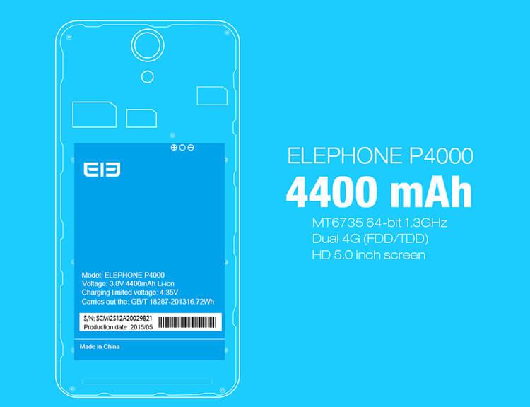 elephone p4400