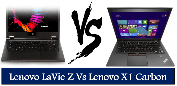 Lenovo LaVie Z Vs Lenovo X1 Carbon