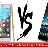 Comparison - ZTE Nubia My PRAGUE Elite and Nubia Z7