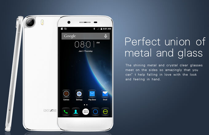 Doogee F3 Pro Smartphone 4G LTE Mobile