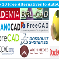 Top 10 Free Alternatives to AutoCAD