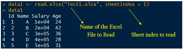 How to Read Excel Files in R Programming