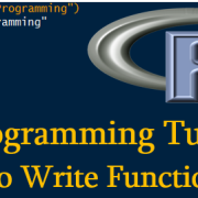 Learn to Write Functions in R
