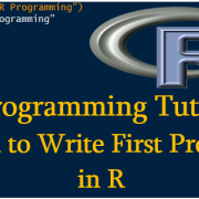 R Programming Tutorial-1