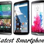 latest smartphones