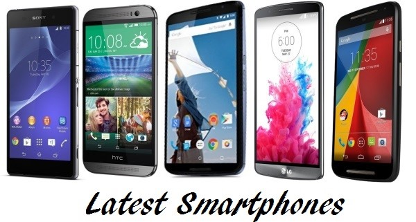 latest smartphones