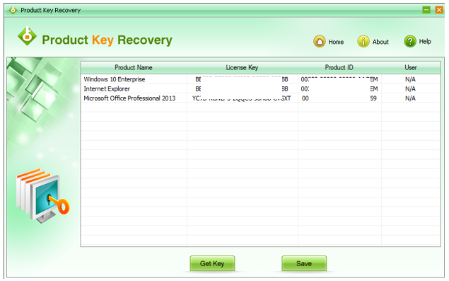 Working of SMARTKEY Product Recovery